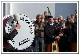 Pipe Band, Achill Island, Co Mayo