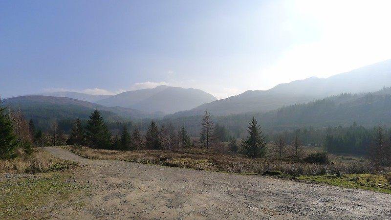 The Achnasheen Hills from Craig