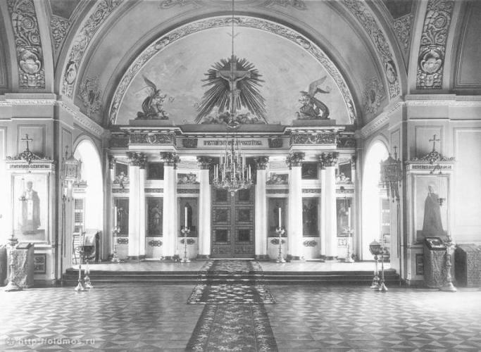 Фотография храма начала ХХ  века