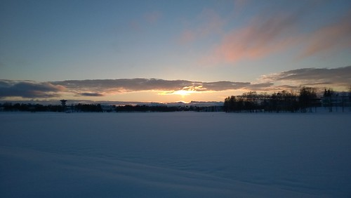 sunset finland kuusamo auringonlasku kuusamojärvi kirkkosaari