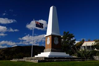 Wanaka war memorial 的形象.