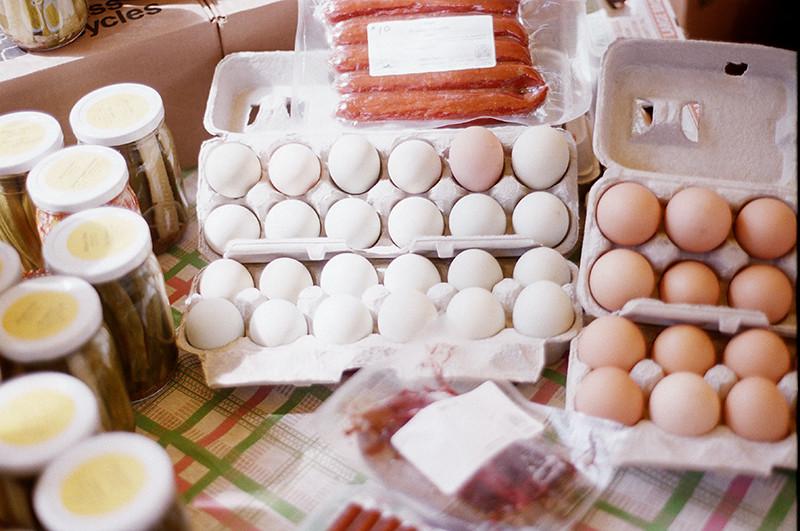 Amish eggs
