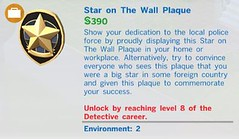 Star on the Wall Plaque