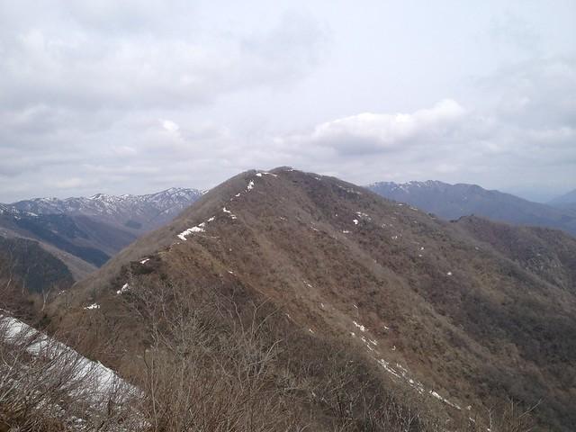 伊吹山 北尾根縦走路  大禿山より国見岳