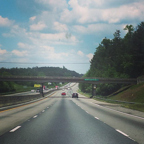 Afternoon rush hour on the way to Cullman. #alabama #justkidding #travel