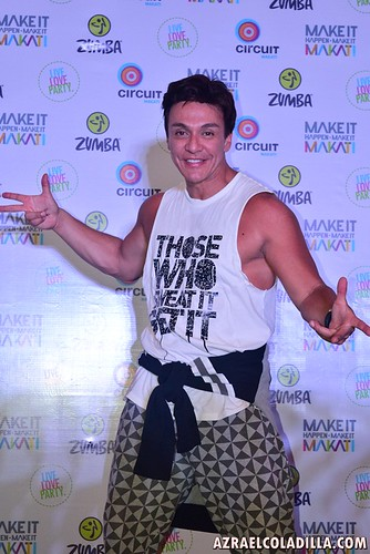 Zumba creator, Beto Perez in Manila