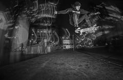 Romain Marit - Kickflip over Road Gap, Moorgate, London