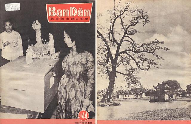 Tạp chí Bạn Dân - số 44 (Ngày 15-10-1963)