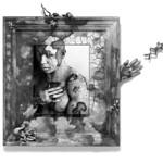 John Bonath; Passage from an Untold Fairy Tale; Mixed media; 38x50; 1996 -