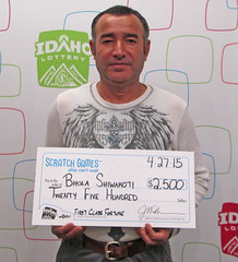 Bhola Shiwakoti - $2,500 First Class Fortune