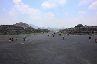 ภาพของ Teotihuacán ใกล้ Ampliación San Francisco. teotihuacan 2016 june 6d estadodeméxico mexico canon