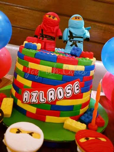 Lego Cake by Irish Dimatulac