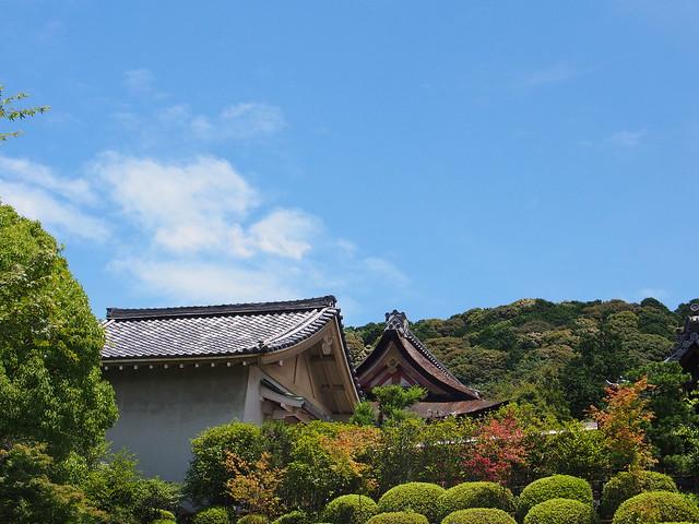 清水寺本堂附近的天際線
