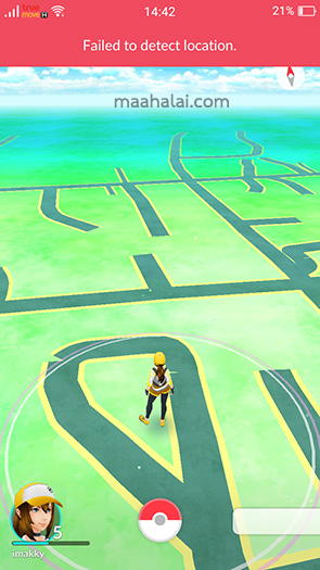 Pokemon Go GPS Problem