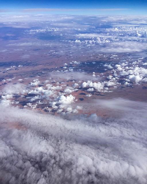 Somewhere over Arizona. #jetblue #jetbluemint
