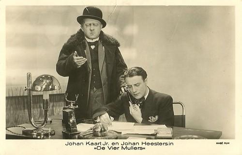 Johan Kaart en Johan Heesters in De Vier Mullers