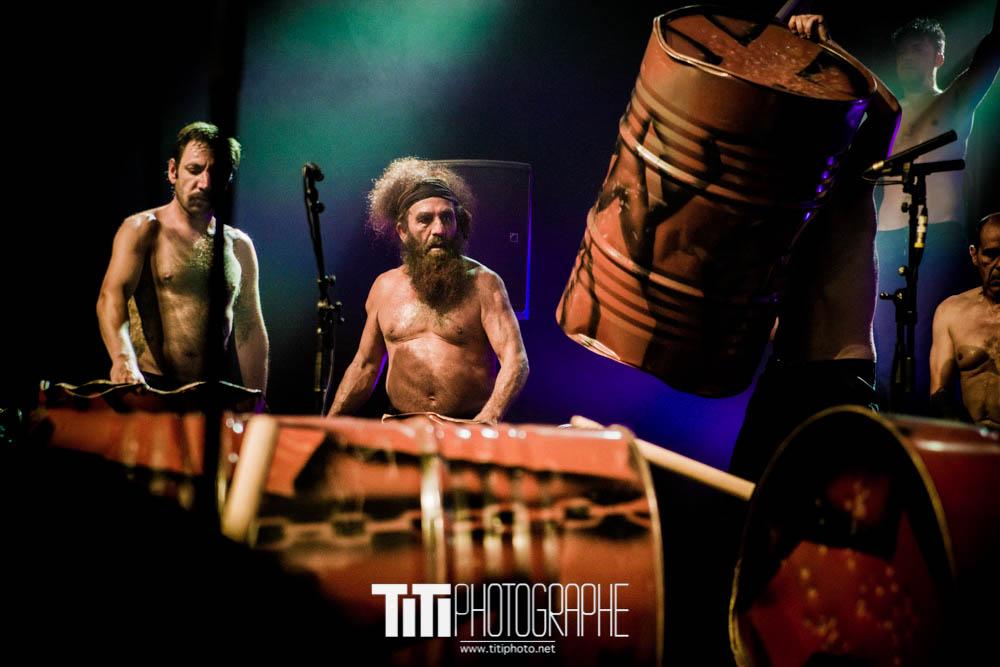 Les Tambours du Bronx-Rencontres Brel-2016-Sylvain SABARD