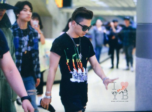 Big Bang - Gimpo Airport - 20may2015 - Tae Yang - Urthesun - 05