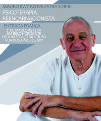 Palestra gratuita de Mauro Kwitko em Belo Horizonte. Dia 21 de março, sábado, às 14h, no Helium Espaço Multiuso, rua dos Aimorés, 1017. E mês que vem, início do Curso de Formação!