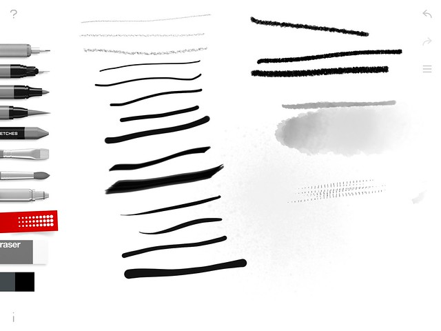Estylo Tayasui Sketches Test