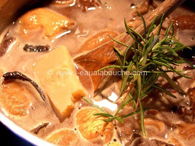 Blanc de Poulet aux Champignons à la Sauce Madère © Ana Luthi 003