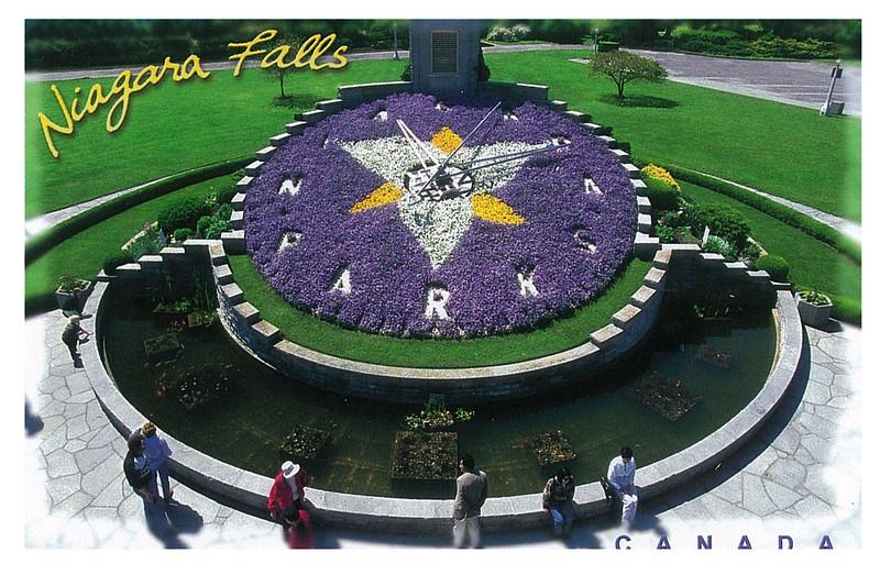 Canada - Niagara Falls - The Floral Clock