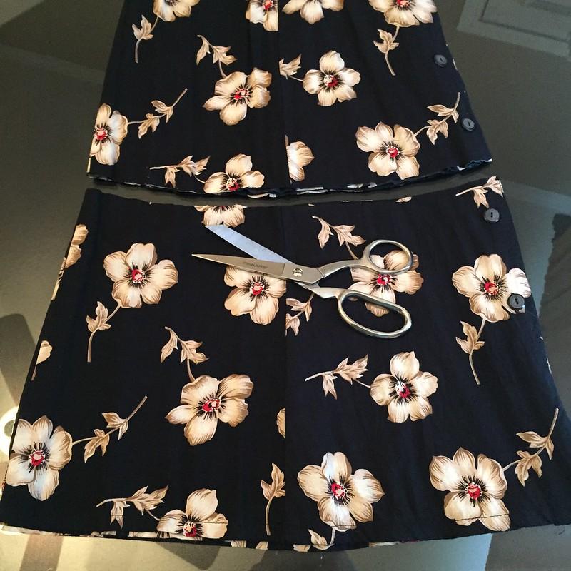Kimono-esque Dress - In Progress
