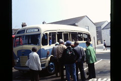 Vic's Island Tour Commer Coach, St.Mary's, Isles of Scilly, in May 1980