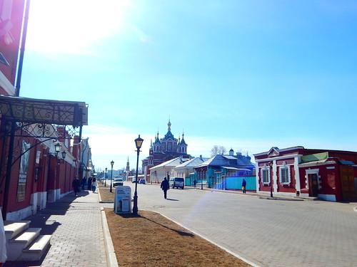 улица с музеем