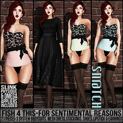 Sn@tch Fish 4 This-For Sentimental Reasons Vendor Ad SM