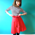 Red Miette Skirt