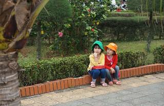 Two cute Vietnamese girls