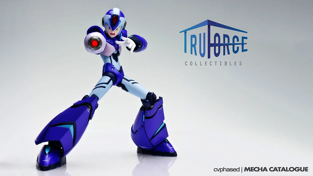 TruForce Collectibles' Mega Man X - Colored Prototype Shots