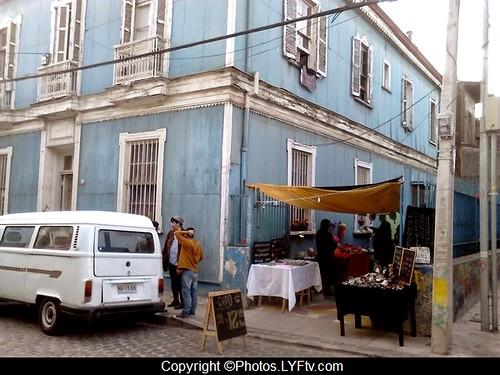 Valparaiso Cerro Alegre Chili