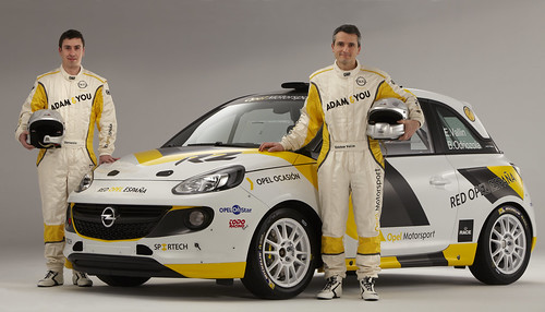 Vallin Odriozola Opel Adam R2 2015