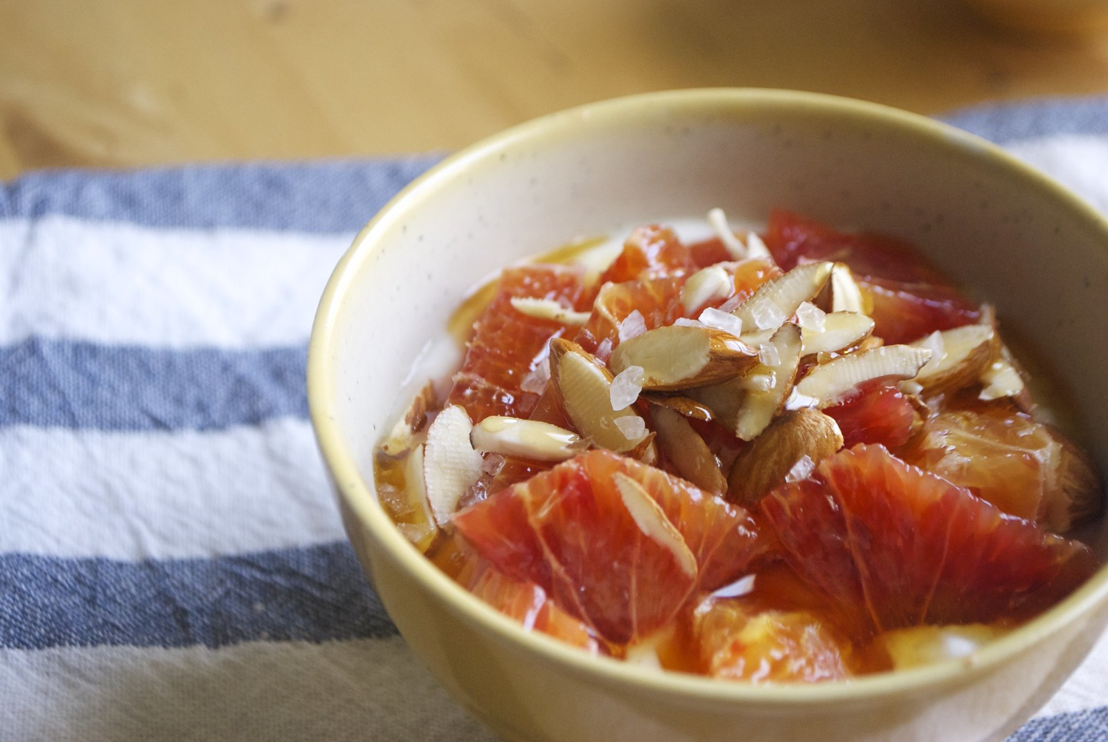 Simple Blood Orange Yogurt Bowl | Kitchen in the Hills