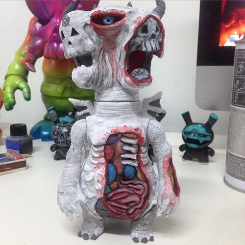 #dissection #frankmysterio #antichrist666 #anticristo666 #custom #sofubi #madeinjapan #kaiju