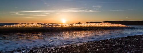 Newgale golden surf