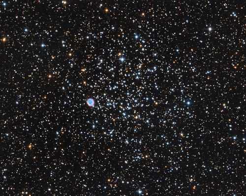 deepspace astrophoto m46 puppis ngc2438 astrometrydotnet:status=solved astrometrydotnet:id=nova1088699