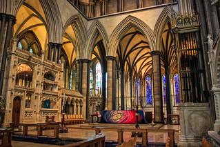 Salisbury Cathedral - interior view