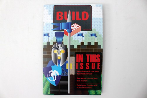 Brick Builders Club March 2015 Box