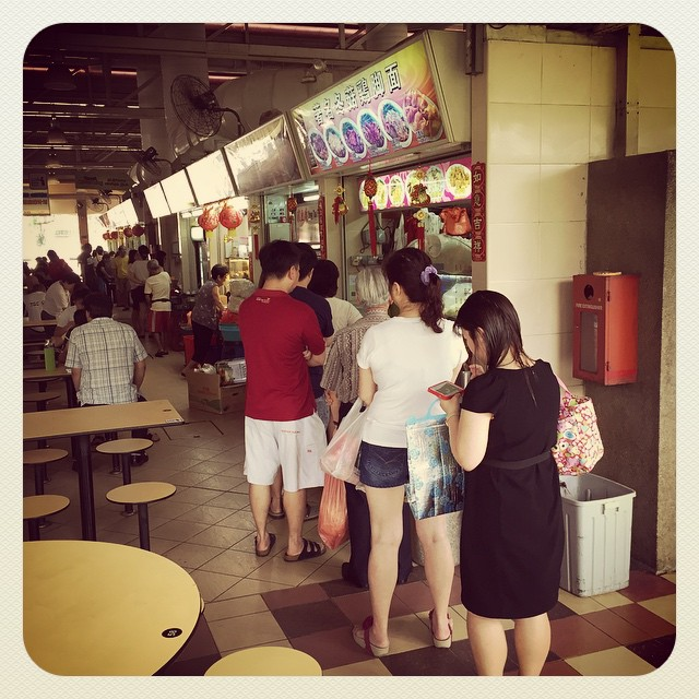 Will Q for food.....