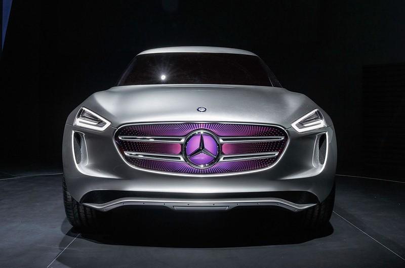 Дизайн Mercedes-Benz G-Code 2014 года