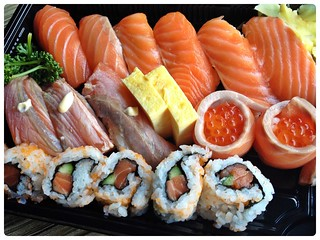 All Sorts of Salmon Sushi