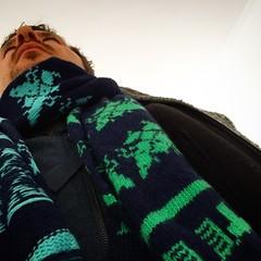 Rockin' @wools81 custom #5uperFly scarf...