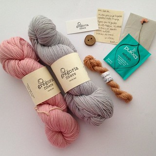 Yay!!! Good mail today ☺️ I received a lovely package from @gregoriafibers. Thank you Anna, your yarn is gorgeous. Everything is so special ❤️ #yarnporn #naturalyarns #naturalcolors #gregoriafibers #naturallydyed #igknitters #igyarnstashers