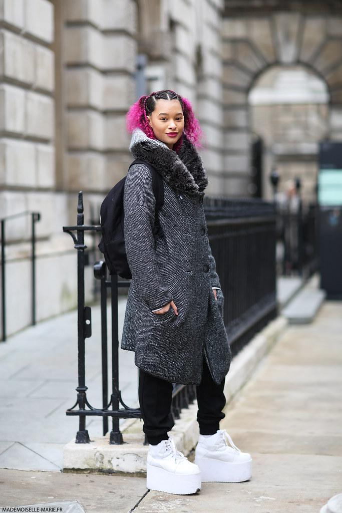 Jordan Pritchett at London Fashion Week