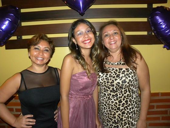 Rozélia, Maria Rita e Zélia Santos