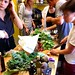 cooking workshop using (mostly) greens (kale, collards, arugala) from our garden plot in last week's making food, making media class by davidsilver
