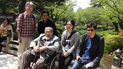 20150429 Kenroku garden with prof. Arof